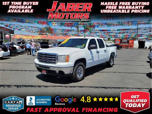 Photo 2011 GMC Sierra 1500 Crew Cab SL Pickup 4D 5 34 ft (- ALL CREDIT ACCEPTED - Bad Credit OK)