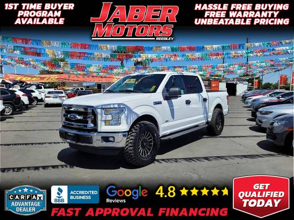 Photo 2015 Ford F150 SuperCrew Cab XLT Pickup 4D 5 12 ft (- ALL CREDIT ACCEPTED - Bad Credit OK)