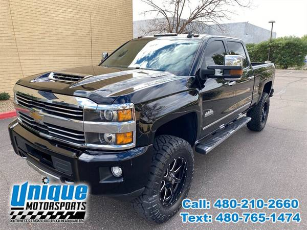 Photo 2017 CHEVROLET CHEVY SILVERADO 2500HD HIGHCOUNTRY LIFTED  TRUCKS - $55,995 (DELIVERED RIGHT TO YOU NO OBLIGATION)