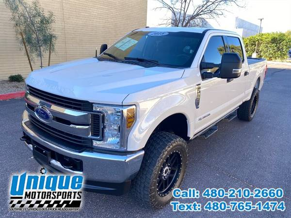 Photo 2018 FORD F-250 F250 F 250 SD DIESEL XLT 4X4 LIFTED  TRUCKS - $48,995 (DELIVERED RIGHT TO YOU NO OBLIGATION)