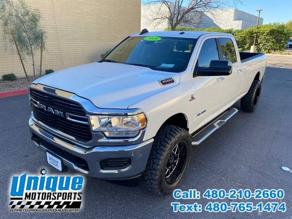 Photo 2019 DODGE RAM 3500 BIG HORN 4X4 DIESEL 8FT LIFTED  TRUCKS - $53,995 (DELIVERED RIGHT TO YOU NO OBLIGATION)