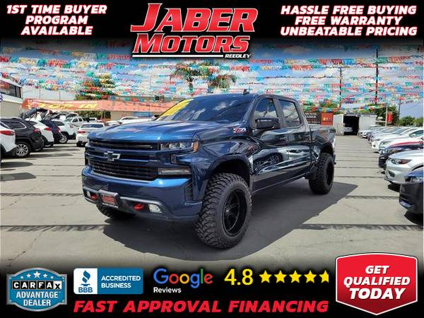 Photo 2020 Chevrolet Chevy Silverado 1500 Crew Cab RST Pickup 4D 5 34 ft (- ALL CREDIT ACCEPTED - Bad Credit OK)