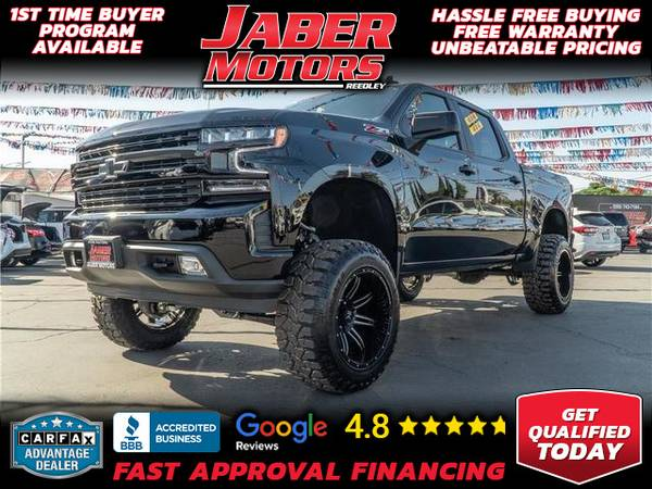 Photo 2021 Chevrolet Chevy Silverado 1500 Crew Cab RST Pickup 4D 5 34 ft (- ALL CREDIT ACCEPTED - Bad Credit OK)