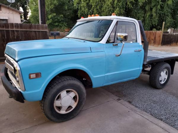 Photo 69 chevy c10 shortbed 4x4 (sale or trade) - $5500 (Tulare)