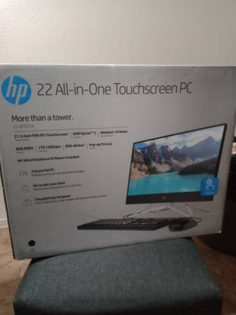 Photo BRAND NEW STILL IN BOX 22quot All-In-One Touchscreen PC - $300 (Porterville)