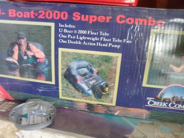 Photo Boat 2000 Super Combo Float Tube - $100 (Tulare)