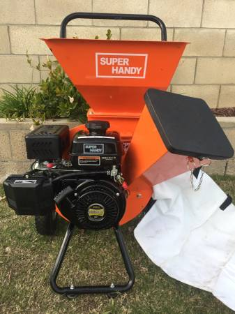 Photo Brand New 7hp Commercial 3quot Compact Chipper Shredder - $550