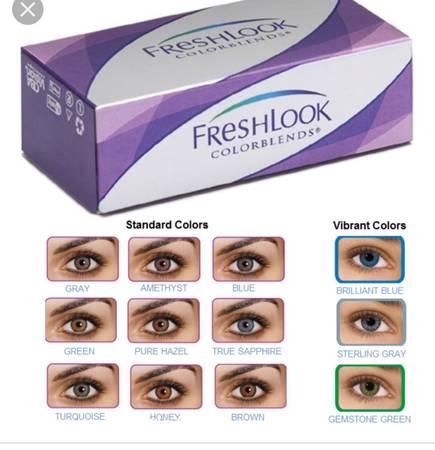 Photo Color contact lenses - $10