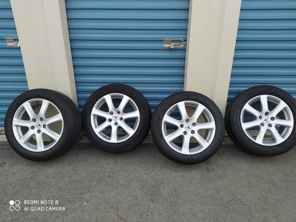 Photo Factory used 4 Acura MDX alloy wheels for sale (22555R17) - $500 (Porterville)