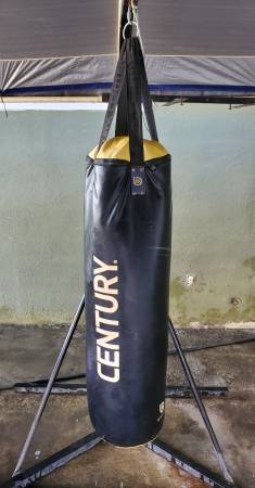 Photo Full Size Century Brave heavy bag and Stand - $149 (PORTERVILLE)