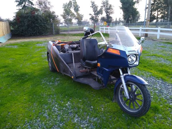 Photo Goldwing-trike- with V8 Cadillac motor and automatic transmission - $3900 (Visalia)