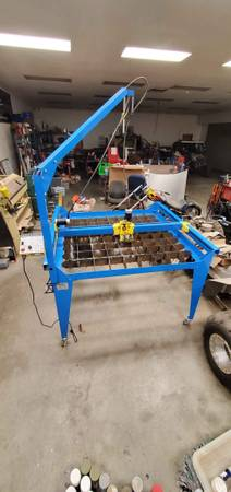Photo PlasmaCam DHC 539 x 539 CAD controlled cutting table and Computer - $4400 (SW Visalia)