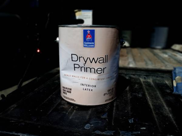 Photo Sherwin-Williams Drywall Primer Interior Latex - $10 (Tulare)