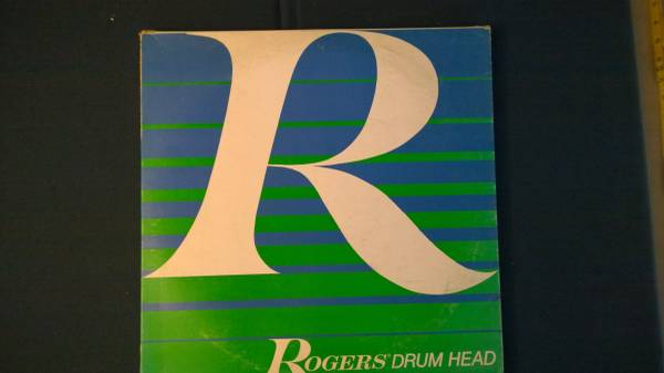 Photo Vintage Rogers Drum Heads-New - $14 (orosi)