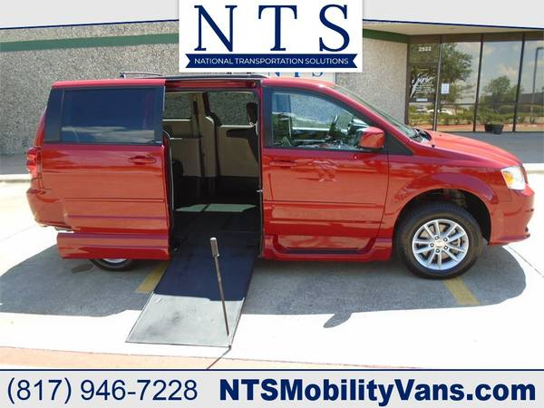 Photo 14 DODGE GRAND CARAVAN MOBILITY HANDICAPPED WHEELCHAIR MANUAL RAMP VAN - $20,900 (Irving, TX)