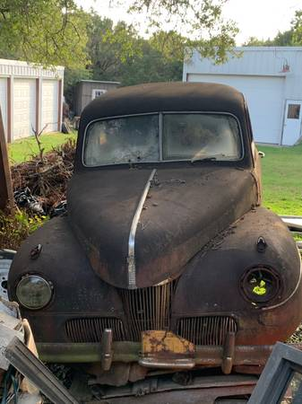 Photo 1941 Ford Super Deluxe project car - $3,850 (Waco)