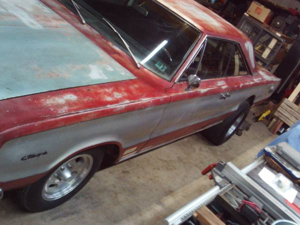 Photo 1967 PLYMOUTH GTX OLD DRAG CAR - $17,000 (axtell)