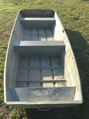 Photo 1972 ouachita 14 ft aluminum flat bottom - $400 (Moody)