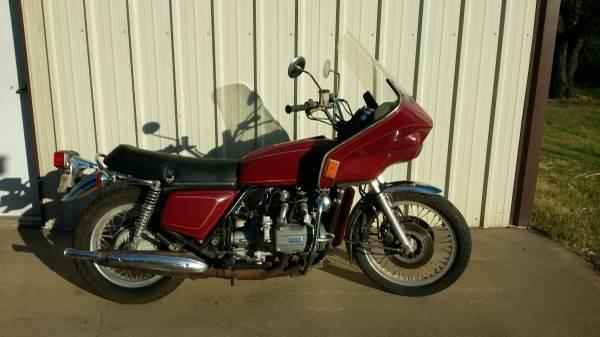 Photo 1975 Honda 1000 Gold Wing - $1,200 (Morgan)
