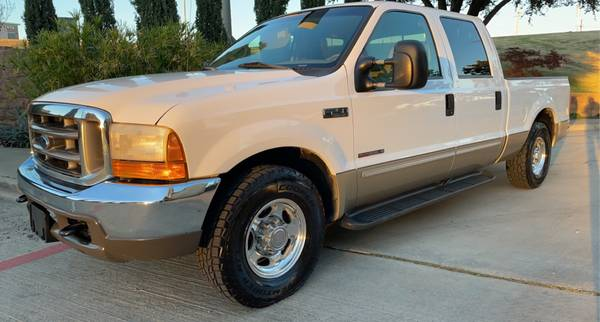 Photo 2000 FORD F250 Powerstroke 7.3 Liter Diesel Crew-Cab 1-Owner Lariat - $21,000 (DallasPark Cities)