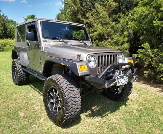 Photo 2005 Jeep Wrangler LJ Unlimited - $18500 (Groesbeck)