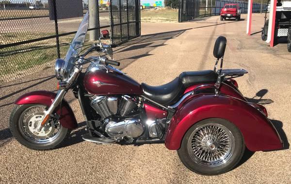 Photo 2009 Kawasaki Vulcan 900 Trike - $8,999 (Waco)