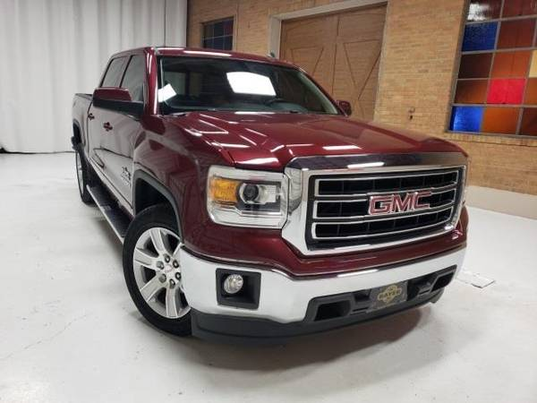 Photo 2014 GMC Sierra 1500 SLE - truck - $21700 (GMC Sierra_ 1500 Sonoma Red Metallic)
