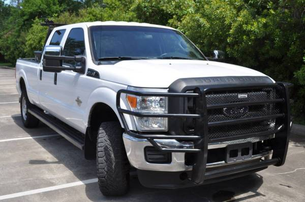Photo 2015 FORD F350 SD 4X4 DIESEL CREW CAB 8ft LONGBED WELL MAINTAINED - $21500 (WOODLANDS)