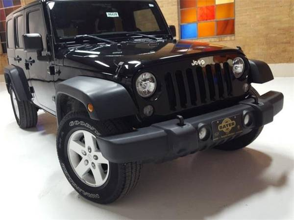 Photo 2017 Jeep Wrangler Unlimited Sport - SUV - $28270 (Jeep Wrangler Black Clearcoat)