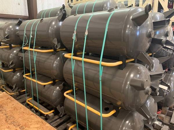 Photo 60 Gallon 200PSI ASME Air Tank - $175 (Mansfield)