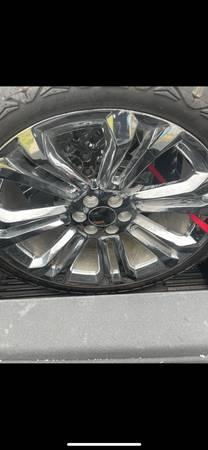 Photo Chevy 6 lug wheels and tires - $1,200 (Eddy)