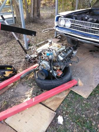 Photo Ford 302 and T10 transmission for sale - $1,050 (Jewett)