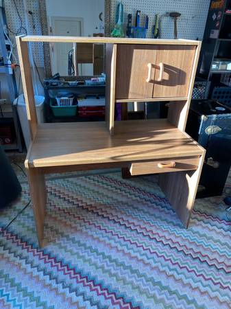 Photo Modular Computer Desk - $30 (Woodway)