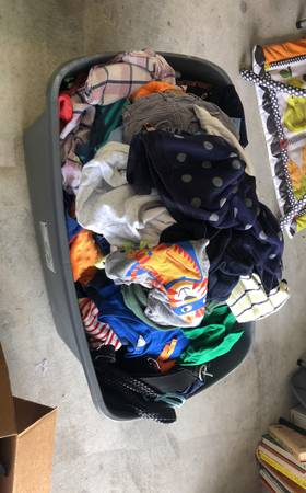 Photo Mostly kids clothes, both boygirl. From 0-3 months to 2T - $15 (WoodwayWacoHewitt)