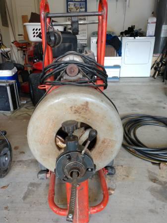 Photo RIDGID, large Sewer Machine - $900