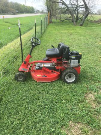 Photo Snapper riding mower - $1000