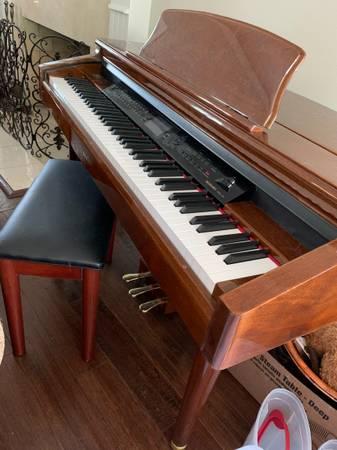 Photo Suzuki Mdg-300 Micro Grand Digital Piano - $950 (HILLSBORO)