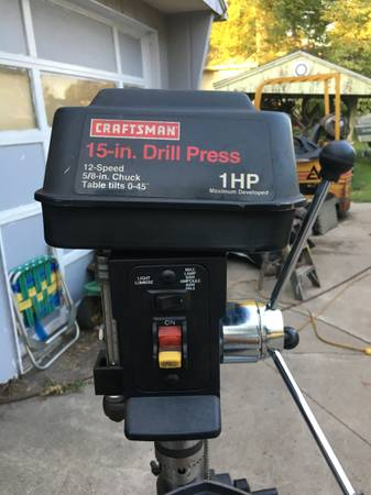 Photo 15quot Craftsman Drill Press - $220 (Dunkerton, Iowa)