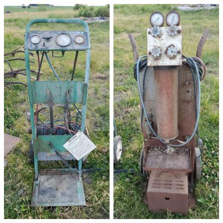 Photo 2 Vintage Air Conditioning Recovery Units w Heavy Duty Two-Wheel Cart - $25 (Hawkeye)
