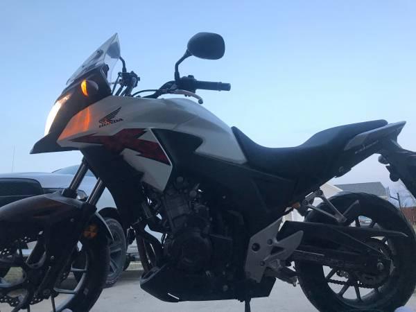 Photo Honda CB500X 2014 - $5,000 (WEST DES MOINES)