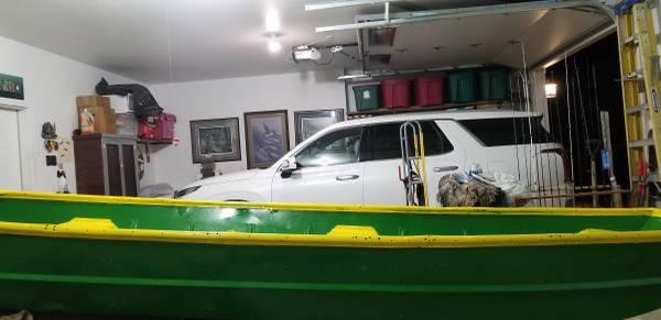 Photo JOHN DEERE GREEN JON BOAT(great pond boat) - $300 (Osceola)