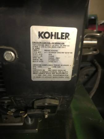 Photo John Deere 420 Repower - Kohler CH20 kit for 318-420 - $1000 (Waterloo)