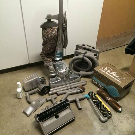 Photo Kirby Sentria 2 vacuum with all attachments and shoo system - $300 (Cedar Falls)
