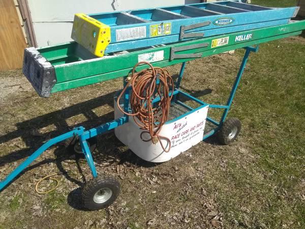 Photo Racing go kart pit cart price reduced - $100 (Waterloo)