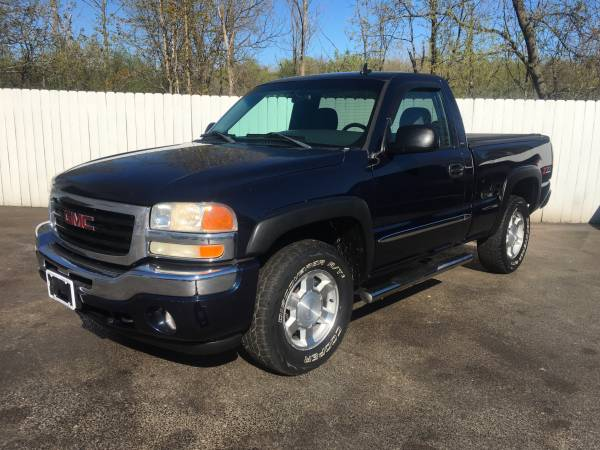 Photo 2006 GMC Sierra SLE Automatic 5.3 Liter Vortec 4WD Excellent Condition - $11,850 (Northern Auto Sales Watertown Ny 13601)