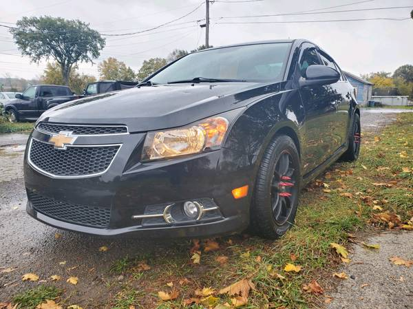 Photo 2014 Chevy Cruze LTZ RS only 82k loaded serviced NYSI warranty - $8,995 (Adams Center)