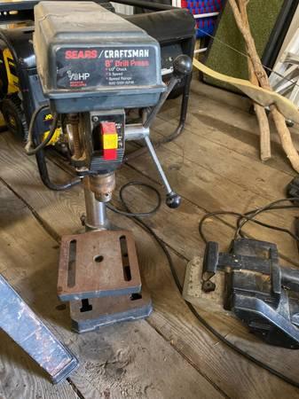 Photo Craftsman 8 bench top drill press - $85 (Henrietta)