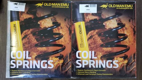 Photo Jeep Grand Cherokee - ARB Old Man Emu Coil Springs w2.15 in. Lift - $320 (Cape Vincent)