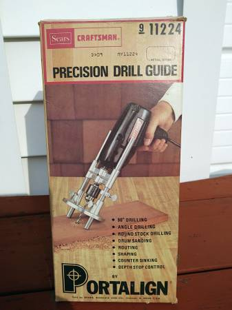 Photo Vintage Craftsman Precision Drill Guide By Portalign - $10 (Penfield)