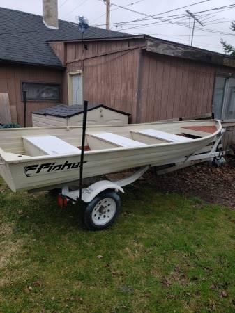 Photo 14 ft fishing boat complete setup - $1,500 (Algoma)